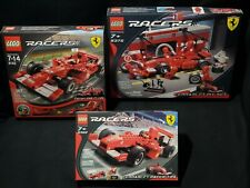 Set of 3 LEGO Racers FERRARI F1 #8375 #8142 #8362 1:24 NiSB