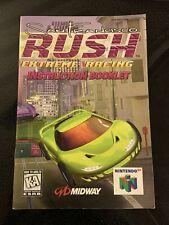 San Francisco Rush (Nintendo 64, 1996) Instruction Manual Only  N64 Booklet