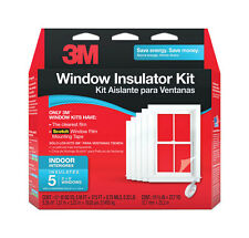 3M  Clear  Window Film Insulator Kit  62 in. W x 210 in. L .75 mil