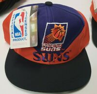 NWT Phoenix Suns Vintage 1990s Youth Sized Snapback Hat Official NBA New w/ Tags