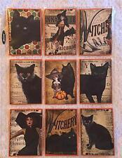 Halloween Black Cats~Pocket Pen Pal Letter Kit~with sleeve~#31~judysjemscrafts