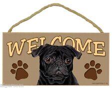 Cute Pug Dog Girls//Ladies Denim Purse Wallet Christmas Gift Idea AD-P64JW