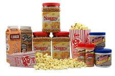 Deluxe Home Theater Popcorn Machine Supplies Kit