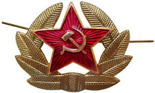 Two Russian Military Medals SOVIET RED ARMY BADGE & DOUBLE HEADED IMPERIAL EAGLE