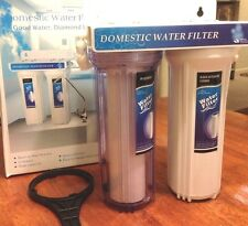 Under sink two Stage Domestic Water Filter System
