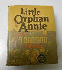 1936 LITTLE ORPHAN ANNIE $1,000,000 Formula Big Little Book FN 6.0 Whitman