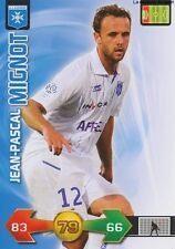 JEAN-PASCAL MIGNOT # FRANCE AJ.AUXERRE CARD CARTE PANINI ADRENALYN FOOT 2010