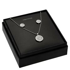 New Oroton Crystal Pave Necklace and Earrings Set Gift Box Present Jewellery