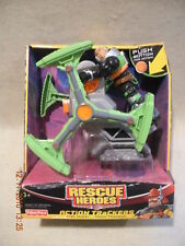 Rescue Hero Action Max Team C.D. Moon & Moon Tracker Factory Sealed!