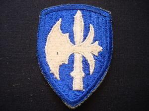 "World War II Shoulder Patch US 65th INFANTRY Division ""BATTLE-AX"""