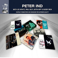Peter Ind CLASSIC ALBUMS COLLECTION Jutta Hipp LEE KONITZ Buddy Rich NEW 4 CD