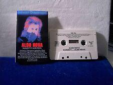 Aldo Nova Subject... Aldo Nova 14 track 1983 CASSETTE TAPE