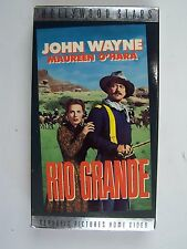 John Wayne Rio Grande VHS Video Tape