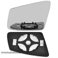 Left Passenger side wing mirror glass for Mercedes C-Class 2009-2014 Heated