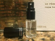 Creed Aventus 19S11 New Batch 8/19 Men Original Eau De Parfum 5ml Decant sample