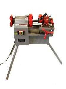 "Electric Pipe Threader Machine (1/2""-2"") Threading Cutter, Deburrer NPT (P50)"