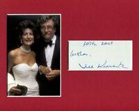 Jill Krementz Famous Photographer Signed Autograph Photo Display W Kurt Vonnegut
