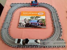 TAKE ALONG THOMAS & FRIENDS DIECAST THOMAS & SPENCER TRAINS BOOK & TRACK BUNDLE