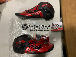 Bont Z Inline Skates Size 10.5 294MM Black/Red Super-Mold Technology