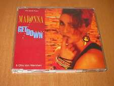 MADONNA - GET DOWN - CD SINGLE 2 TRACKS ( LIKE NEW )