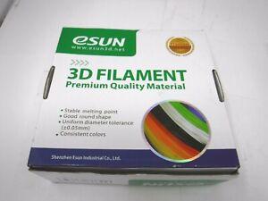 eSUN 3D Printer PETG Filament 2.85 MM Natural 0.5 KG 180-210 Print Temp *NEW*