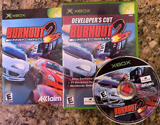 BURNOUT 2: POINT OF IMPACT - DEVELOPER'S CUT (for Xbox, 2003) Complete Tested!