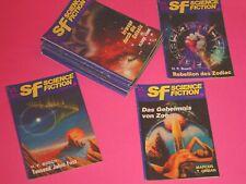 15 x SF - SCIENCE FICTION - ROMANHEFTE / ZAUBERKREIS VERLAG 1966-85