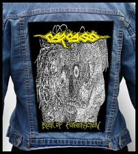 CARCASS - Reek of Putrefaction   --- Giant Backpatch Back Patch