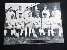 Swansea-equipo de fútbol de imagen - 1 página-clipping/cutting