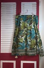 PRICE DROP! Peter NyGard Collection Boho or Beach Skirt 100% Cotton Size 12P