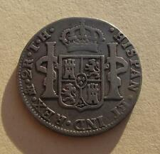 1811 Mexico 2 Reales 2R Mo TH Silver Coin Spanish Colonial KM#92 KEY DATE RARE