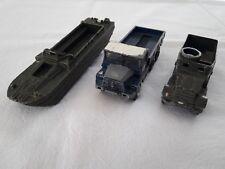 Dinky Toys - 3 Véhicules - Dont 1 Half Track et 1 Berliet Gazelle