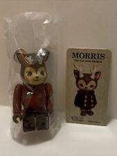 Medicom Bearbrick Series 35 Morris The Cat With Antlers 100%