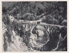 D2053 Ponte ferroviario sul fiume Melezza presso Olgia - Stampa - 1923 print