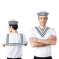 Sea Bib Sailor Navy Collar Fancy Dress Costume Accessory Womens Mens Nautical