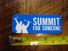 SUMMIT FOR SOMEONE Big City Mountaineers STICKER Decal