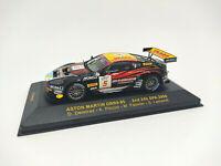 IXO 1:43 - GTM049 Aston Martin DBR9 #5 2nd 24h Spa 2006 Deletraz Piccini Fassler