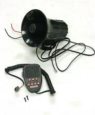 100W 12V Car Truck Siren Horn Loud Speaker Police Fire + MIC System 7 Sound Tone