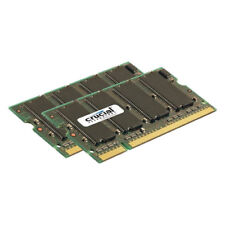 Mémoires RAM DDR2 SDRAM Crucial pour SO DIMM 200 broches