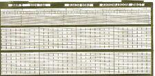 TOMS MODEL WORKS 1/400 2-Rail Set w/Ladders TMW4002