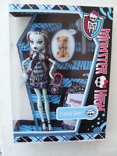 frankie stein monster high daughter frankenstein pet dog watzit doll BBC67 BBC64