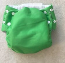 Knicker Nappies Cloth Diaper Cover & Insert Green