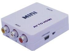 AV to HDMI Converter for VCR DVD PS3 720P 1080P AV2HDMI