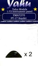 Yahu Model 1:72 Stearman PT-17 Kaydet Color Instrument for Revell Kit #YMA7270