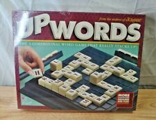 Up Words: The 3-Dimensional Word Game-Milton Bradley-1997 *New*