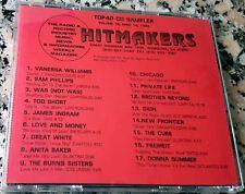 HITMAKERS TOP 40 CD SAMPLER 19 RARE DJ CD 1989 Donna Summer Cure Chicago Dion