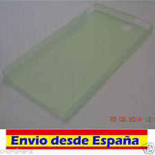 Funda Carcasa TPU ultrafina para Sony Ericsson Xperia Z L36h L36 Color Verde