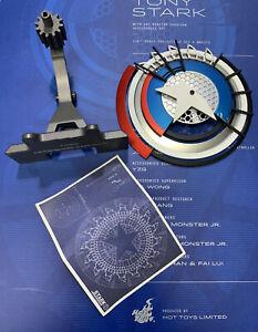Hot Toys MMS273 IRON MAN 2 TONY STARK ARC REACTOR CREATION 1/6 Shield Prototype