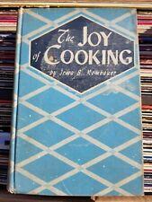 1943 JOY of COOKING WWII Era Cookbook - 1946 Printing - Irma Rombauer