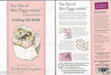 Crafters Companion The Tale of Mrs Tiggy Winkle by Beatrix Potter crafting Cdrom
